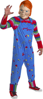 Aldut Chucky Childs Play 2 costumeat the Costume Shoppe
