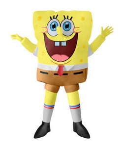 Childrens Spongebob Inflatable costumeat the Costume Shoppe