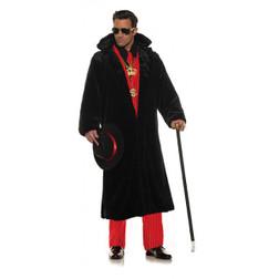 Adult Pimp Plush Coat Costumeat the costume shoppe