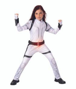 Children's Black Widow Deluxe Costume (White Suit) - Black Widow Movie