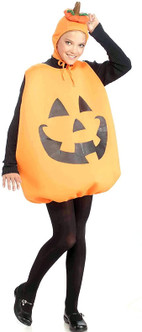 Adult Pumpkin at the costume shoppe
