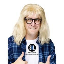 Waynes World Garth Wig & Glasses - At The Costume Shoppe