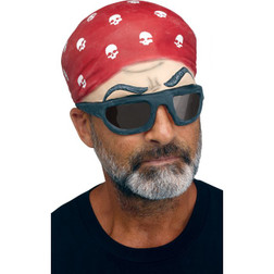 Biker Cap With Shades Cap - At The Costume Shoppe