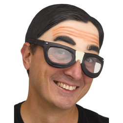 Class Nerd With Glasses Cap - At The Costume Shoppe