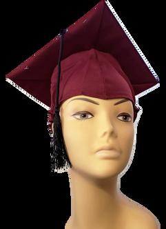 Graduation Cap - Burgundy at The Costume Shoppe