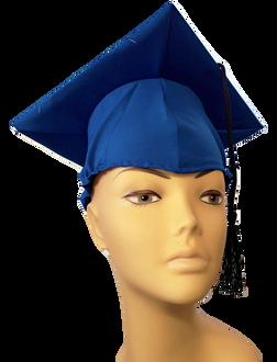 Graduation Cap - Royal Blue at The Costume Shoppe
