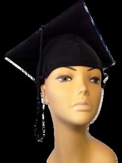 Graduation Cap - Black