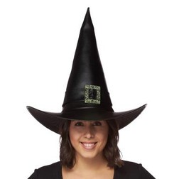 Supreme Leather-Like Witch Hat