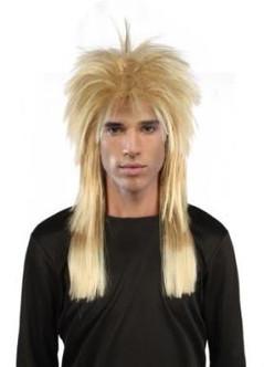 80's Rockstar Wig