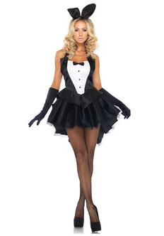 Adult Tux N Tail Bunny 3PC Costume