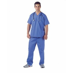 Plus Size Hospital Scrubs