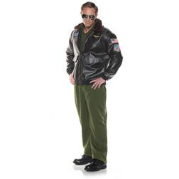 Plus Size Flight Jacket