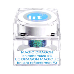 Gliiter Mix Magic Dragon Size 3 at the Costume Shoppe