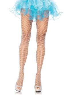 Plus Size Industrial Tights - White at the Costume Shoppe