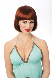 Franco - Bob Wig - Natural Red at the Costume Shoppe