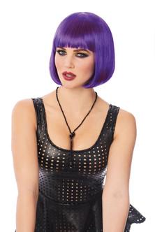 Franco - Bob Wig - purple at the Costume Shoppe