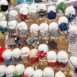 Locally Made and Sourced Hand Made Fabric Face Masks