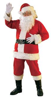 Adult Promotional Flannel Santa Suit XXXL Costume