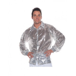 Disco Ball Sequin Mirror Shirt
