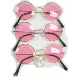 Lennon Pink Lens Sunglasses