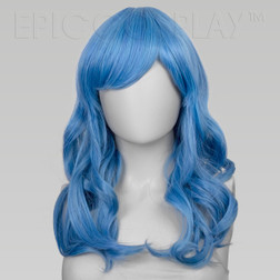 Hestia Teal Blue Mix Wig at The Costume Shoppe Calgary