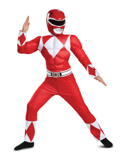 Power Rangers Red Ranger Classic Muscle Costume
