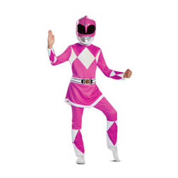 Power Rangers Pink Ranger Classic Muscle Costume