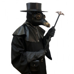 Adults Complete Plague Doctor Costume