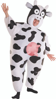Adults Inflatable Cow Costume