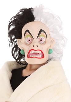 Cruella De Vil Latex Mask