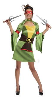 Adult Ninja Turtles Raphael Kimono Costume