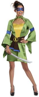 Adult Ninja Turtles Leonardo Kimono Costume
