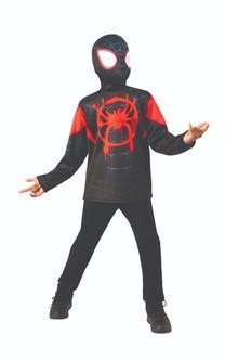 Children's Miles Morales Spider-Man Shirt & Mask