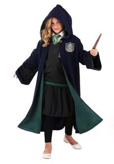 Children's Slytherin Robe- Harry Potter