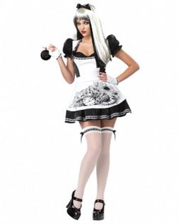 Dark & Sexy Alice in Wonderland Costume