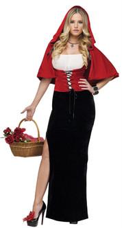 Stunning Sexy Red Womens Costume