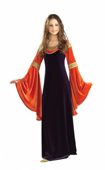 Lord of the Rings Red Arwen Costume Gown