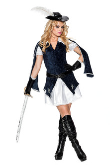 All-for-One Musketeer Costume