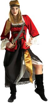 Deluxe Pirate Queen Ladies Costume