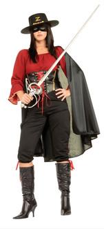 Deluxe Zorro Ladies Costume