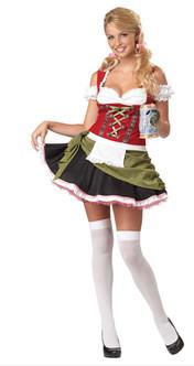 Bavarian Bar Maid Wench Hallowen Costume