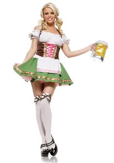 Gretchen Barmaid Sexy Ladies Costume