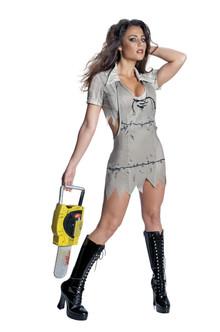 Miss Leatherface Texas Chainsaw Massacre Costume