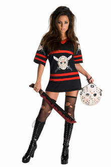 Miss Jason Voorhees Friday the 13th Hockey Jersey