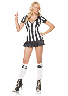 Sexy Game Official Referee Costume