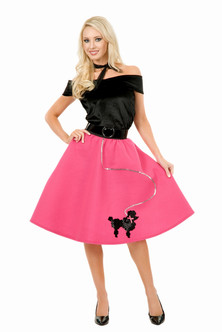 Women's Poodle Skirt Costume
