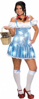 Dorothy Wizard Of Oz Plus Size Costume