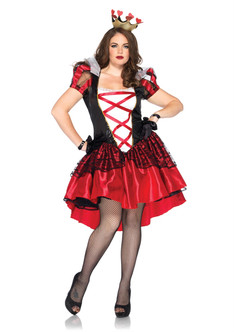 Royal Red Queen Costume - Plus Size