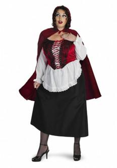 Plus Red Riding Hood Costume