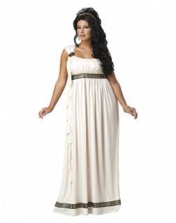 Olympic Goddess Plus Toga Costume